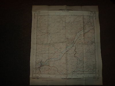 "Ordnance Survey Map 2.5"" SO19 Newtown 1951 Inc. Abernule Dettws Cedewain Pennant"