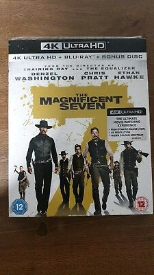 The Magnificent Seven 4K Ultra HD + Blu-ray *BRAND NEW & SEALED*
