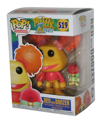 Television Fraggle Rock 519 Red with Doozer Figurine Funko POP