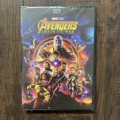Avengers Infinity War Marvel DVD Brand New Free Shipping