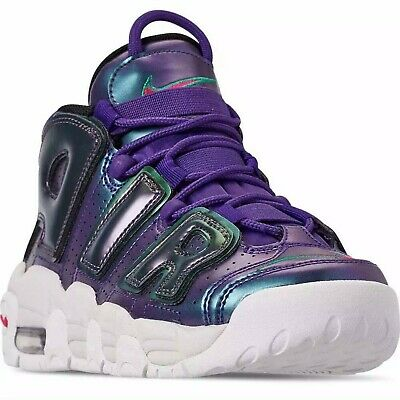 promo code 38d40 cfeeb Nike Air More Uptempo SE GS Athletic Shoes Purple BOYS SIZE 6Y 922845 500  NIB