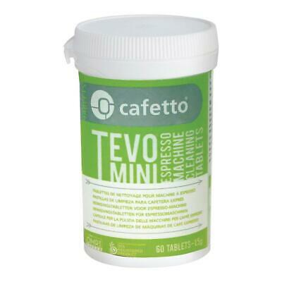 Cafetto Tevo Mini - High Performance Espresso Machine Cleaning Tablets 60 Count