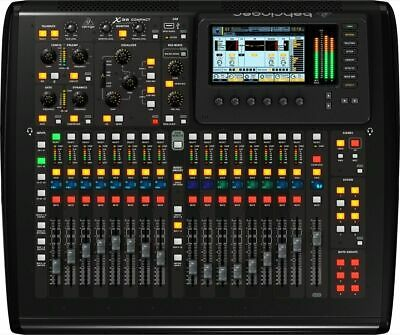 Behringer X32 Compact 40-Input,Mint  25-Bus Digital Mixing  with 16 Microphone