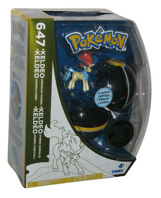 Pokemon 20th Aniversario Keldeo Poke Ball Tomy Pokeball Figura Set