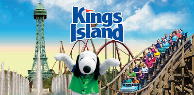 KINGS ISLAND - General Admissions - 4x Single Day E-Tickets! - Great Value!