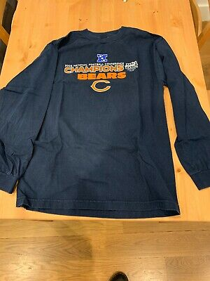 dec339a1240 NFL Chicago Bears Football 2006 NFC Conference Champions Long Sleeve Shirt