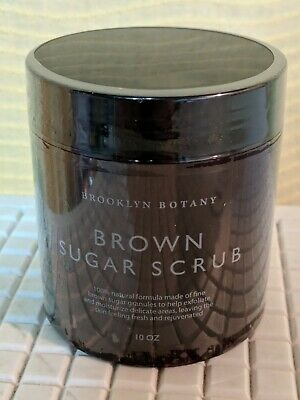 Brown Sugar Body Scrub Exfoliating Face Scrub & Body Scrub 10 oz Brooklyn Botany