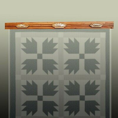 """Quilt Hangers,""""Copper Feathers"""" Will hold 0"""" to 31"""" inch Quilt or Rug"""