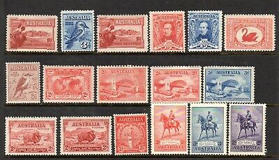 Australia - 1927-1949 - mint collection