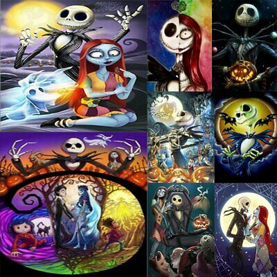 The Nightmare Before Christmas 5D Diamond Painting Embroidery Cross Stitch SP