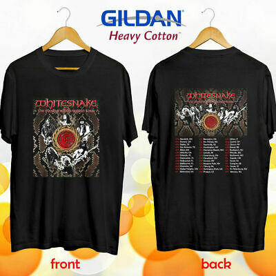Limitiert Neu !! Whitesnake the Flesh and Blood europe tour 2019 T SHIRT  S-5XL