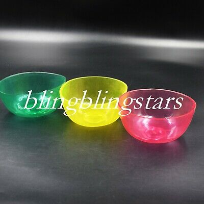 1 Pcs Dental Mix Flexible Rubber Bowls Impression Alginate 3 Colors Lab Nonstick