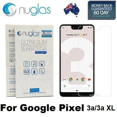 GENUINE NUGLAS Google Pixel 3 3A XL Premium Tempered Glass Screen Protector