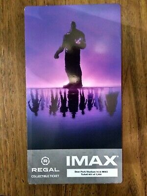 Avengers Endgame IMAX Regal Collectible Ticket w PROMO POSTER CODE! #401/1000