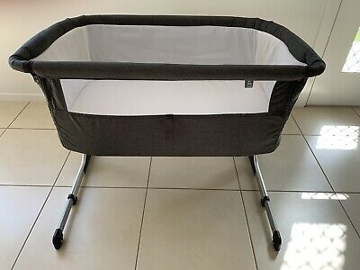 Childcare Baby Bassinet Bed Grey