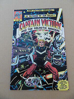 Captain Victory & The Galactic Rangers 1 . J.Kirby . Pacific . 1981. VF