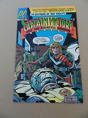 Captain Victory & The Galactic Rangers 2 . J.Kirby . Pacific . 1982. VF