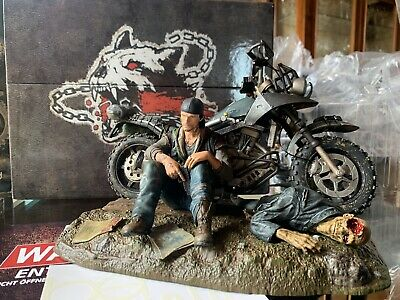 Days Gone PS4 Collector's Edition Action Figure Deacon St.John Motorbike