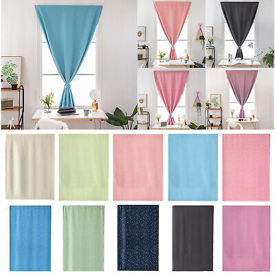 4Size Self-Adhesive Blinds Blackout Drapes Window Curtains Home Room Shades AU