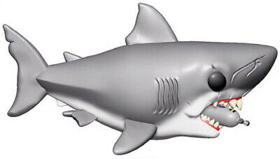 Jaws - Jaws W/ Diving Tank 6 - Funko Pop! Movies: (2019, Toy NEUF)