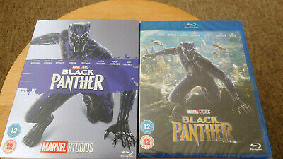 Black Panther [2018 Blu-ray] NEW AND SEALED