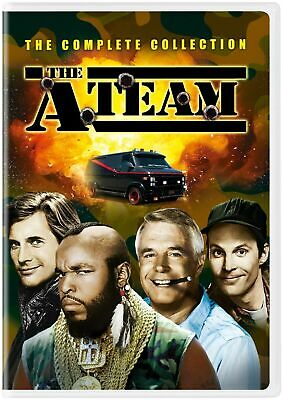 The A-Team Complete Series(DVD,2019,25-Disc Set,Season 1-5)NEW A Team Collection