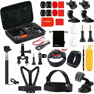 Luxebell Outdoor Sports Camera Accessories Kit For Gopro Hero 6 5 Session 4 3 2