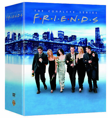 FRIENDS The Complete Series(DVD,2019,32-Disc Set,25th Anniversary,Seasons 1-10)
