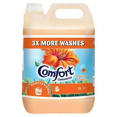 Comfort Concentrate Professional Tropical Burst 178 Washes 5L