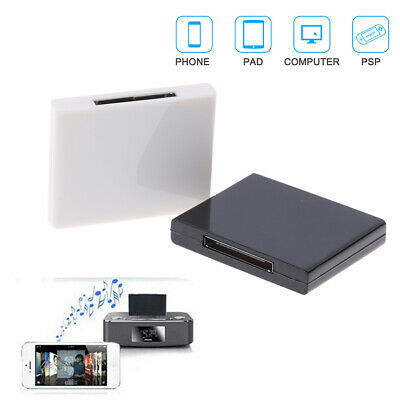 Bluetooth 2.0 A2DP music receiver adapter for 30 Pin docking station speaker ^S