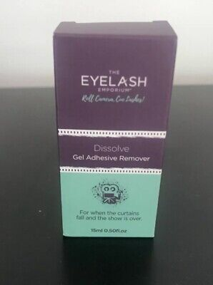 The EYELASH Emporium Gel Glue REMOVER - Individual Lash Extensions. New