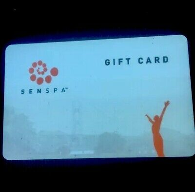 Senspa SF $75 Gift card (discounted)