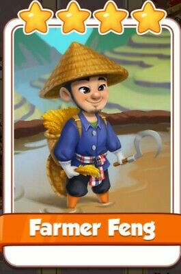 Coin Master Card Farmer Feng(Fast Delivery)