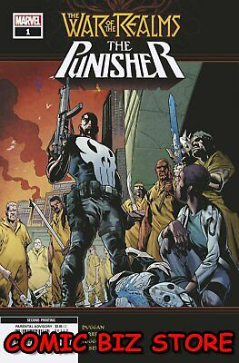 War Of The Realms Punisher #1 (Of 3) (2019) 2Nd Printing Ferreira Variant Cover