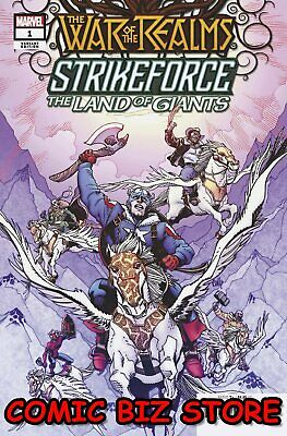 War Of The Realms Strikeforce Land Of Giants #1 (2019) Hamner Variant ($4.99)