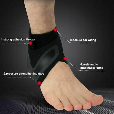 Foot Support Bracers Guard  Adjustable  1PC  Ankle Brace Elastic Protector