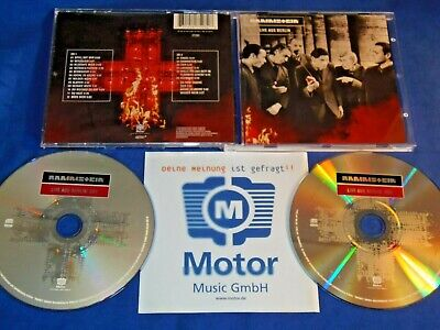 Rammstein - Live aus Berlin - 2 CDs limited Edition Made in Germany + Promo