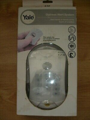 Yale Distress Alert System Remote Fob Calls 3 Emergency Numbers Easy 2 Use