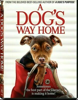 A Dog's Way Home (DVD,2019) NEW-Drama, Family- FREE SHIPPING!!!!!