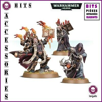 Bits Chaos Space Marines Dark Apostle Warhammer 40,000 W40K