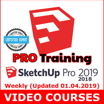 Video Courses SketchUp Pro (2019 - 2018) Training Video Lessons Tutorials