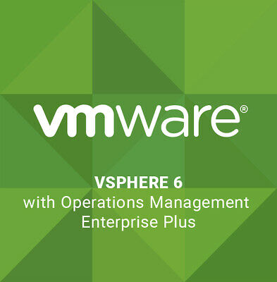 VMware vSphere with Operations Management 6 Enterprise Plus ⭐ Fast Delivery⭐