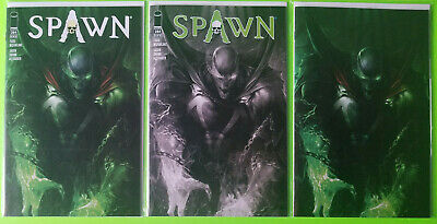 Spawn #284 Mattina NM Set Trade Virgin B&W Image Comics 2018