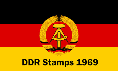 DDR / East Germany Stamps 1969