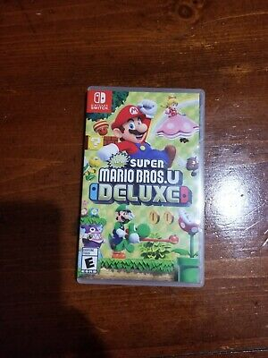 Super Mario Bros. U Deluxe  (Nintendo Switch) 2019 Mint! CIB!