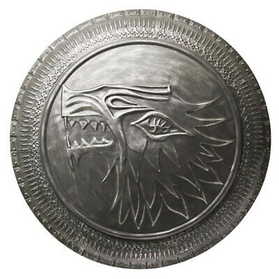 VALYRIAN STEEL Stark Infantry Shield Replica Game of Thrones NEW