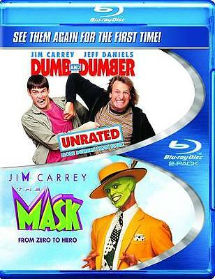 Dumb & Dumber: Unrated / The Mask (Double Feature) [Blu-ray] DVD, Jeff Daniels,