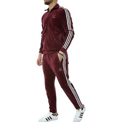 f33ccfb363a LG adidas Originals Men's VELOUR Beckenbauer TRACK TOP & Track Pants LAST1