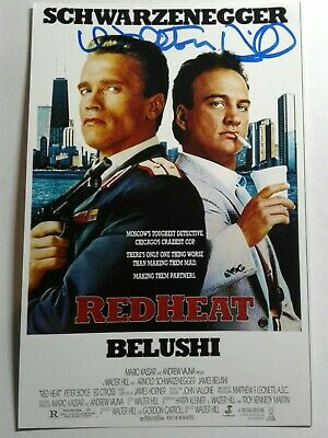 WALTER HILL  Authentic Hand Signed Autograph 4X6 Photo - RED HEAT  Director