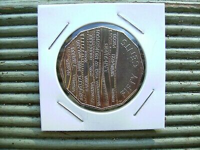 2019 50 cent coin International year of Indigenous languages. New. Mint. UNC